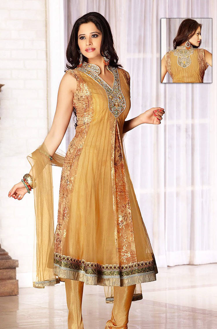 277571xcitefun chooridaar suits 10 - Churidar Salwar Kameez Frock - Designer Collection