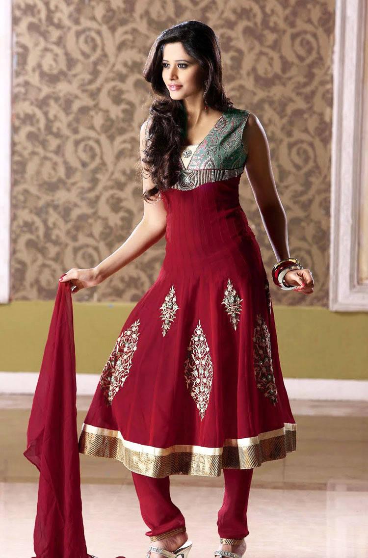 277576xcitefun chooridaar suits 5 - Churidar Salwar Kameez Frock - Designer Collection