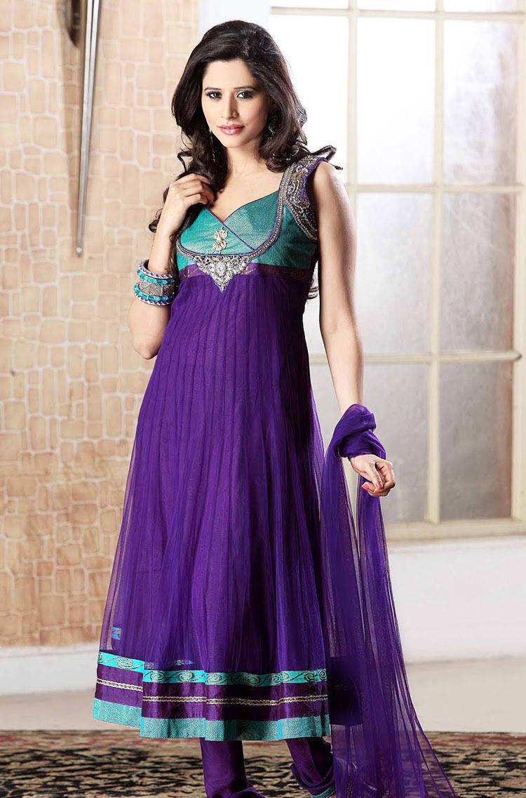 277578xcitefun chooridaar suits 3 - Churidar Salwar Kameez Frock - Designer Collection