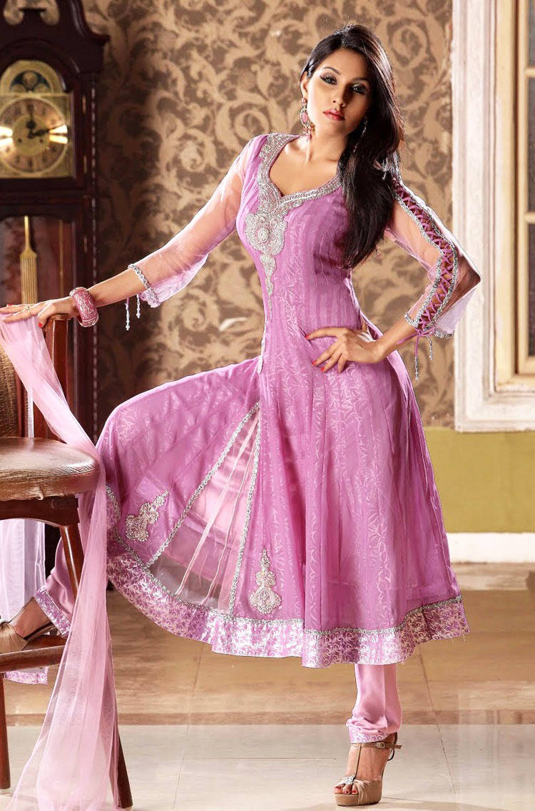 277582xcitefun chooridaar suits 19 - Churidar Salwar Kameez Frock - Designer Collection