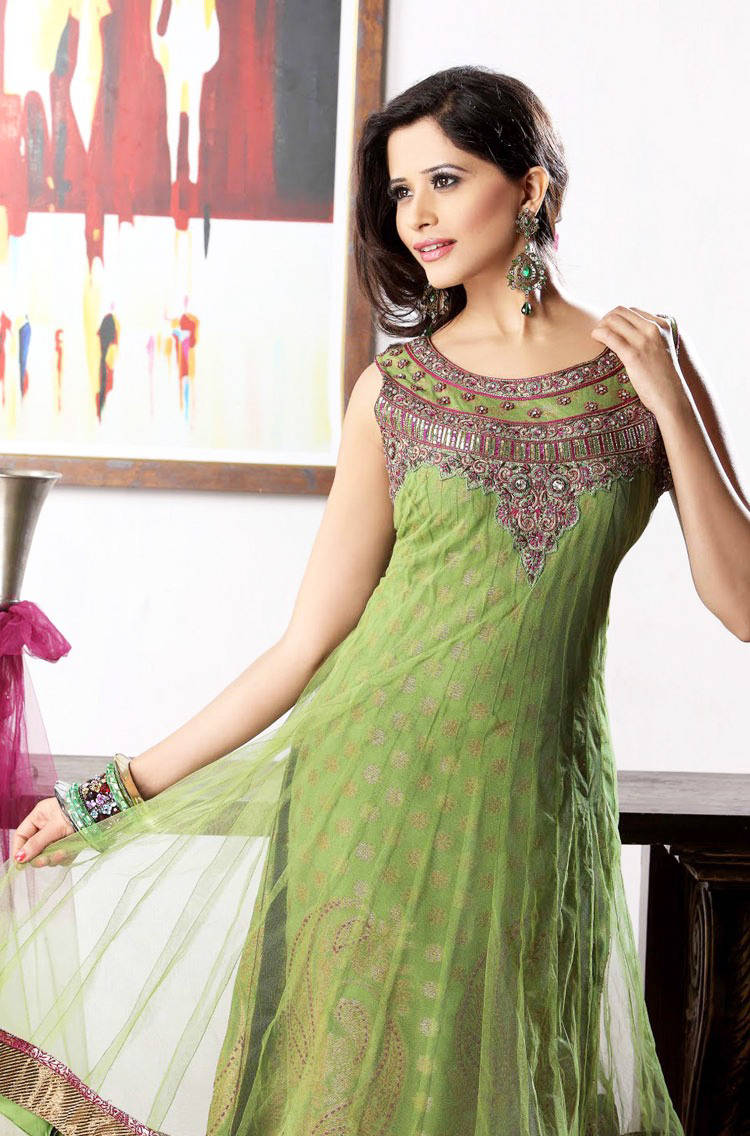 277583xcitefun chooridaar suits 18 - Churidar Salwar Kameez Frock - Designer Collection