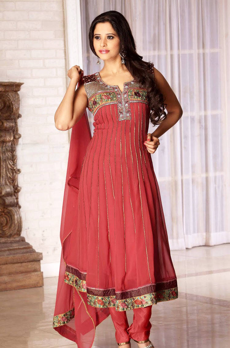 277584xcitefun chooridaar suits 17 - Churidar Salwar Kameez Frock - Designer Collection