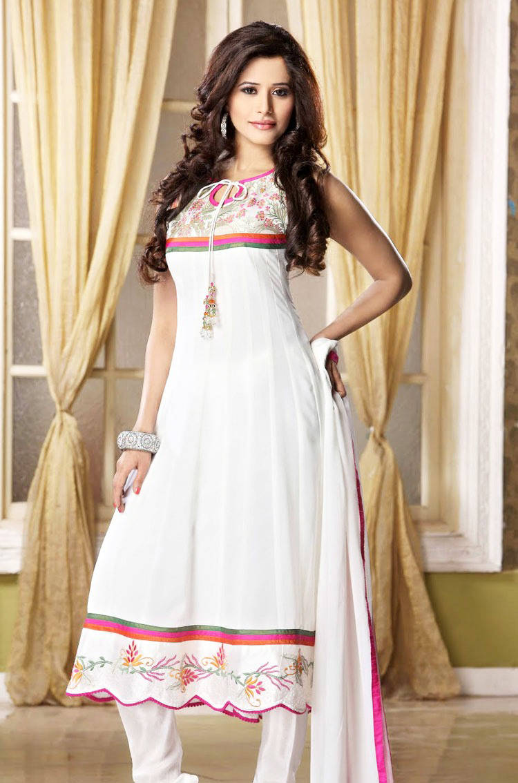 277588xcitefun chooridaar suits 13 - Churidar Salwar Kameez Frock - Designer Collection