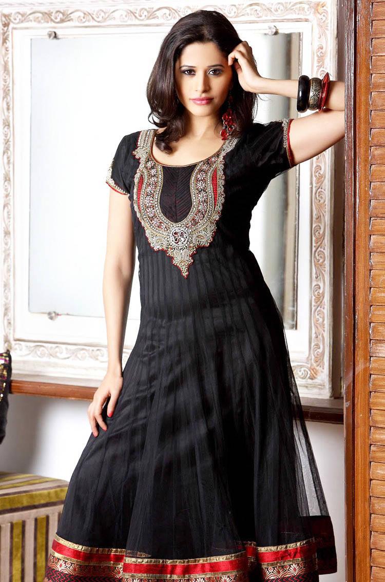 277590xcitefun chooridaar suits 11 - Churidar Salwar Kameez Frock - Designer Collection
