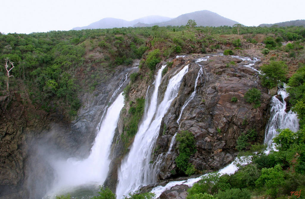 shivanasamudra falls india images n detail xcitefunnet