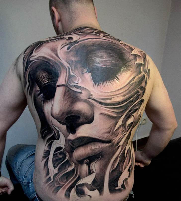 30 Unbelievable Full Body Tattoos