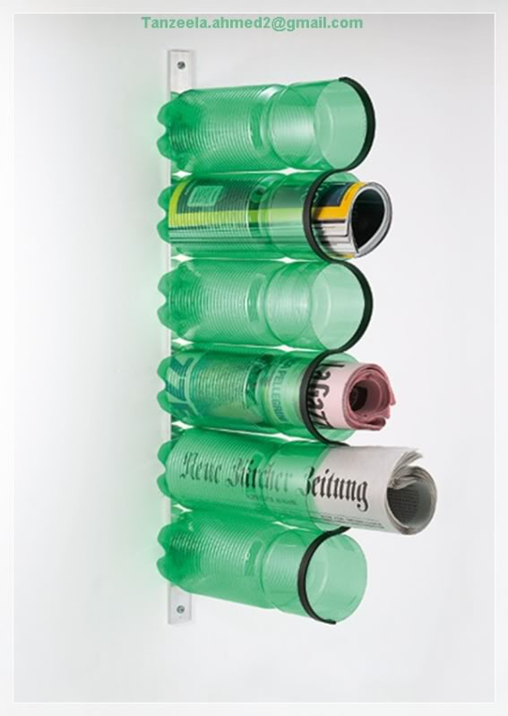 Recylcling of used bottles