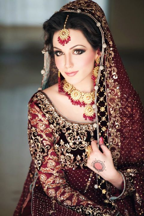 white and red wedding dresses indian
