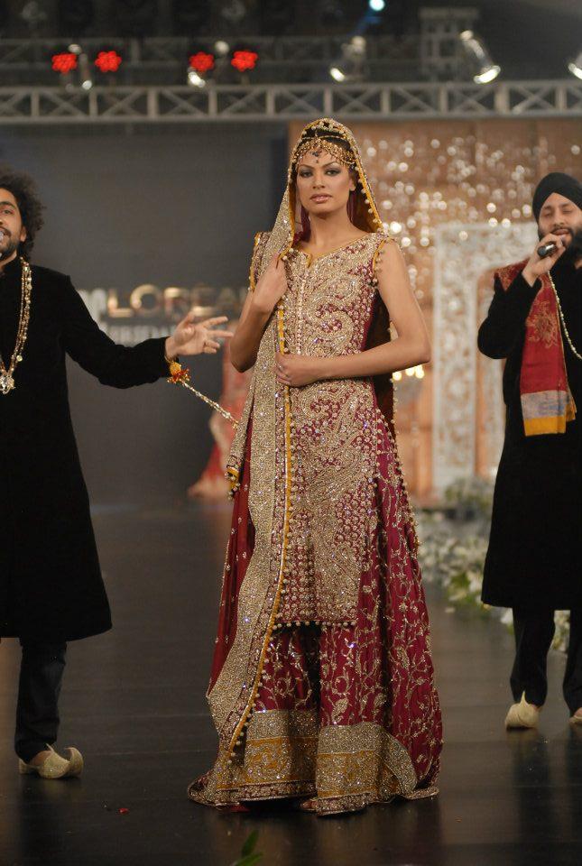 280300xcitefun sara rohale asghar bridal in pfdc loreal - Latest Bridal dresses