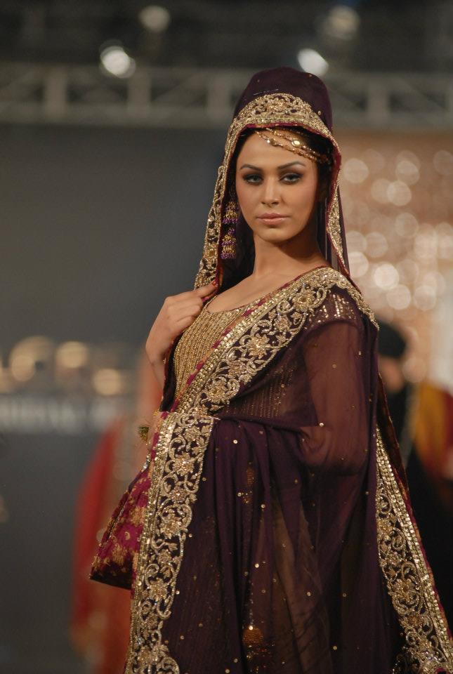 280301xcitefun sara rohale asghar bridal in pfdc loreal - Latest Bridal dresses