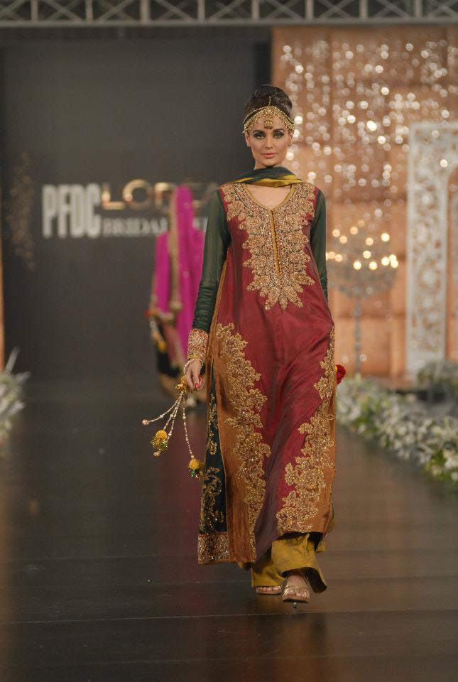 280302xcitefun sara rohale asghar bridal in pfdc loreal - Latest Bridal dresses