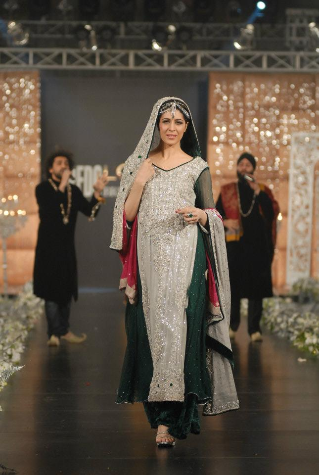 280304xcitefun sara rohale asghar bridal in pfdc loreal - Latest Bridal dresses