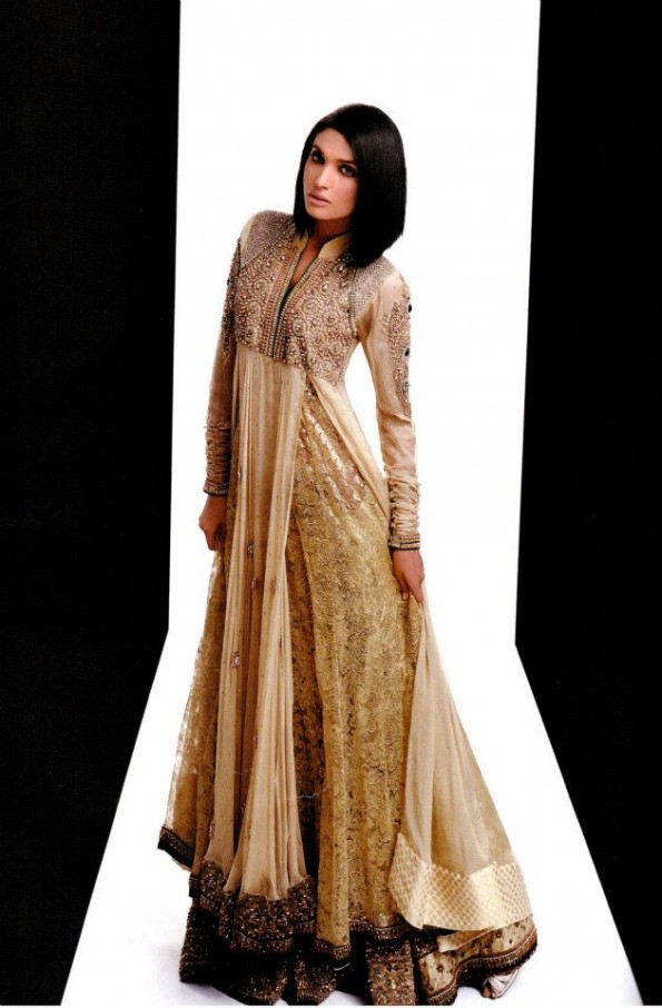 Creative bridal dress collection 2012 by asifa and nabeel - Creatie dressing ...