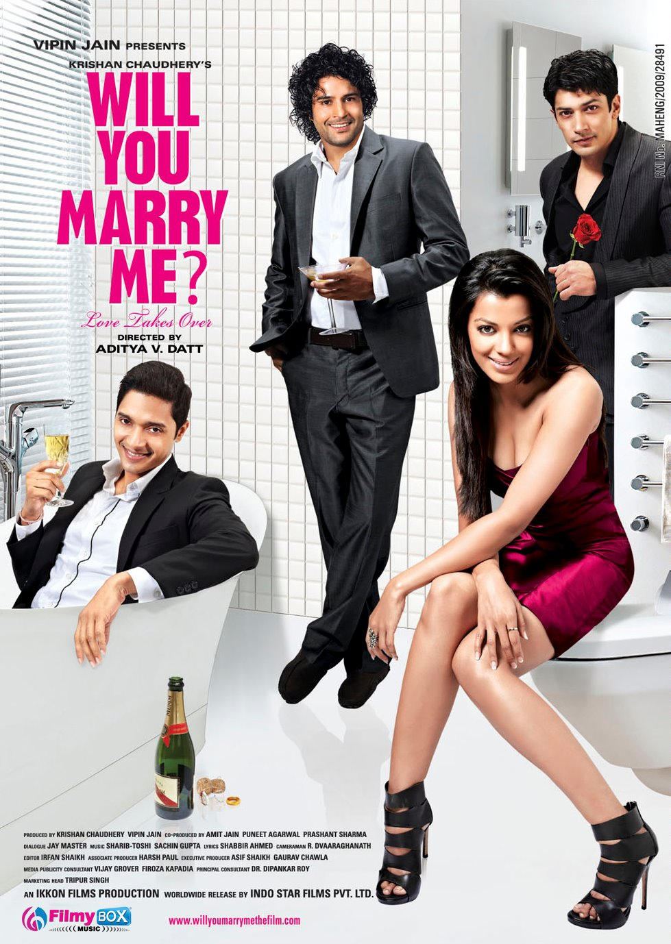 Will You Marry Me? - Movie Poster : Movies, Parties