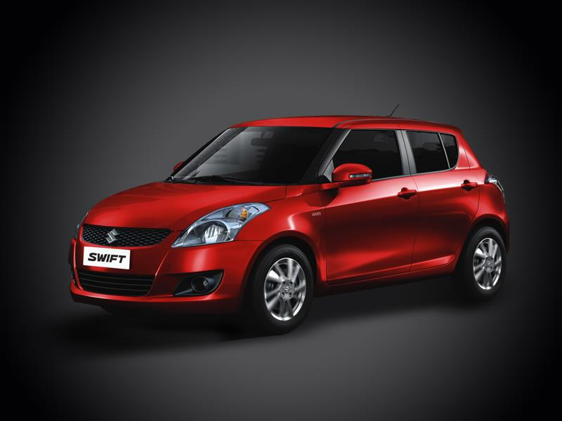 maruti suzuki swift red romantic car   xcitefun