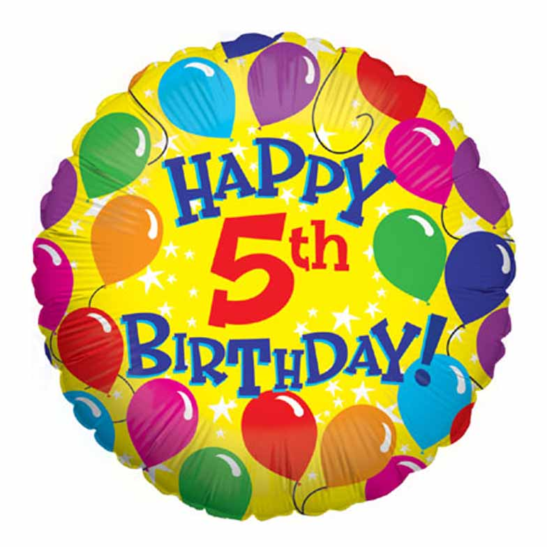 Happy Sparkling 5th Birthday To Xcitefun Net Forum Happy Fifth Birthday Wishes