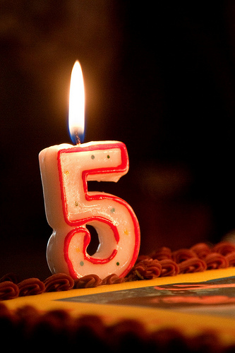Happy Sparkling 5th Birthday To XcitefunNet Forum
