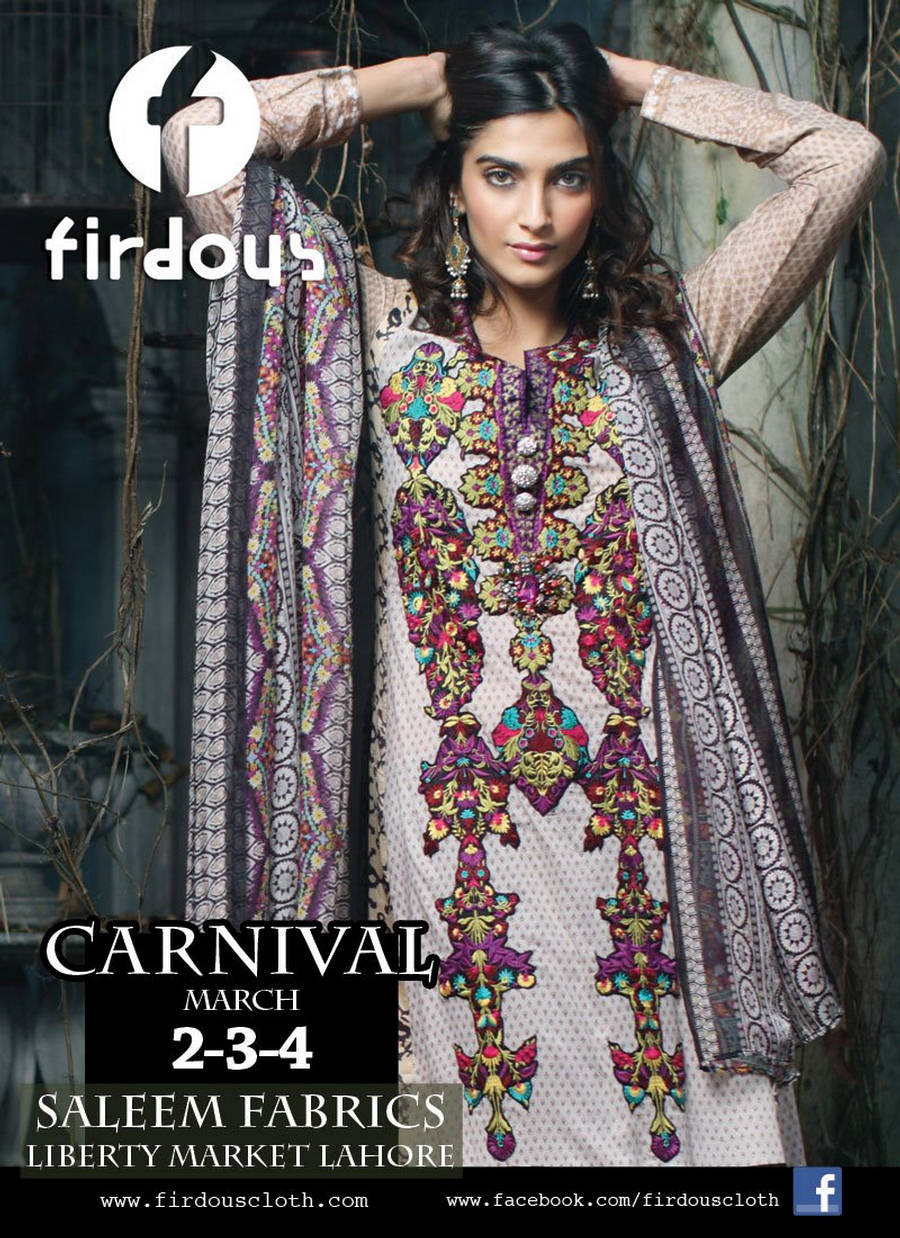 284762xcitefun sonam kapoor firdous 3 - firdous Lawn Collection... 2012