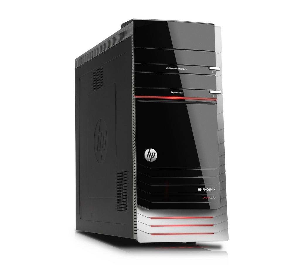 hp pavilion hpe h9 phoenix desktop pc review. Black Bedroom Furniture Sets. Home Design Ideas