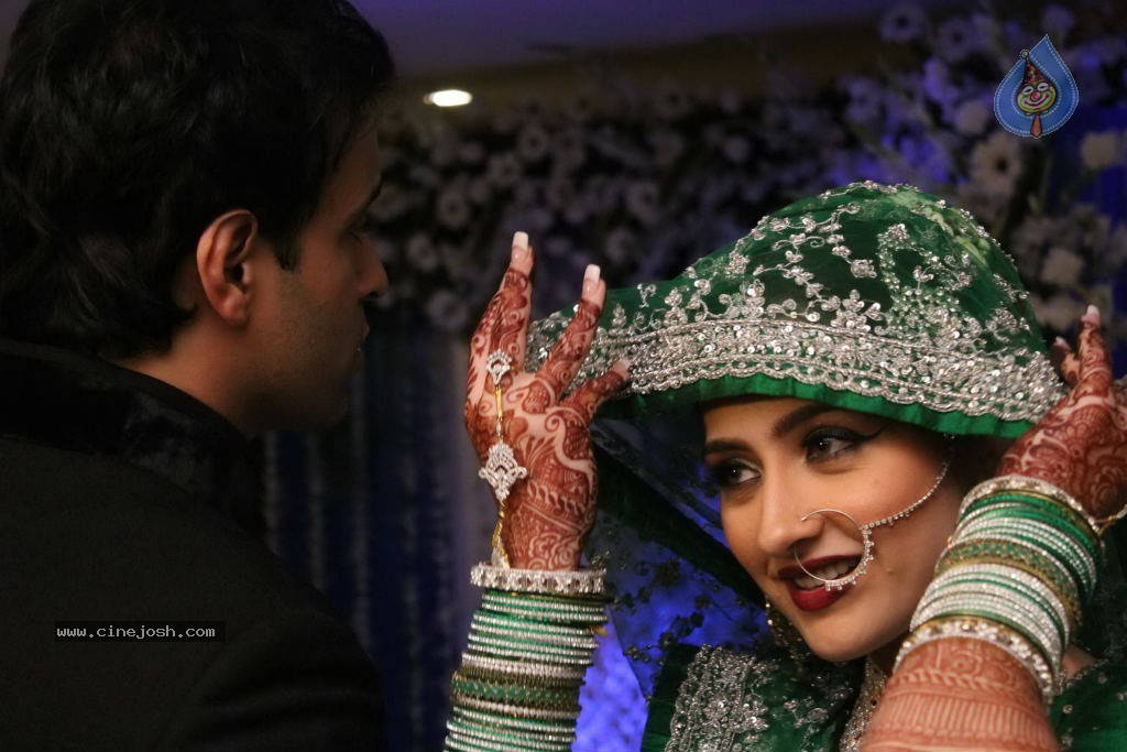 Aamir Ali and Sanjeeda Sheikh Wedding Wedding Pictures