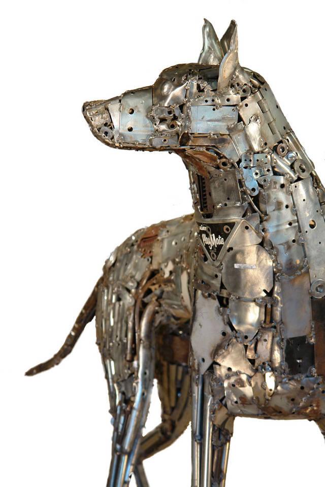 Welded Sculptures Of Recycled Materials Xcitefun Net