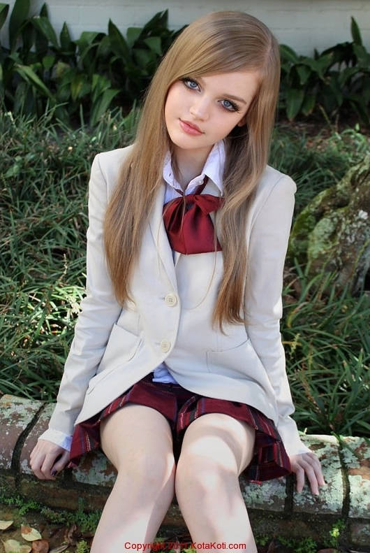 Girl Looks Like Barbie Doll