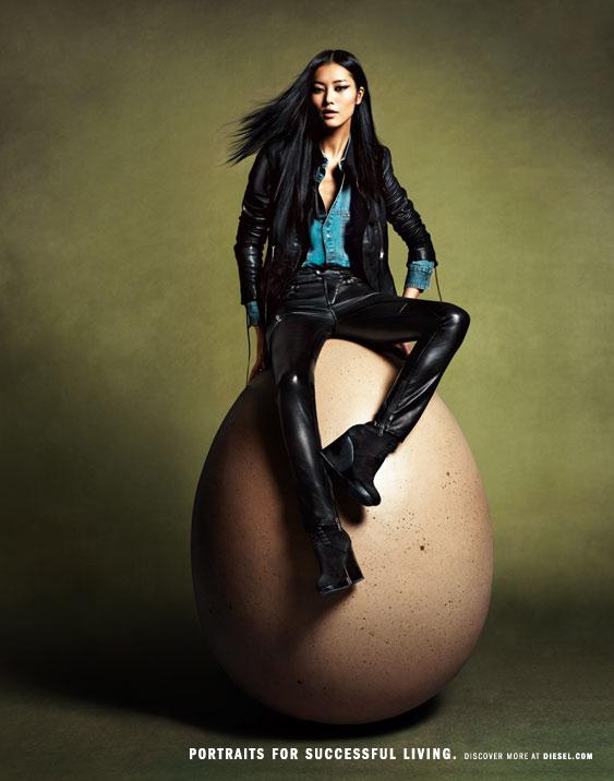 Diesel Collection Egg Incredible Diesel Men Women Spring Collection 2012
