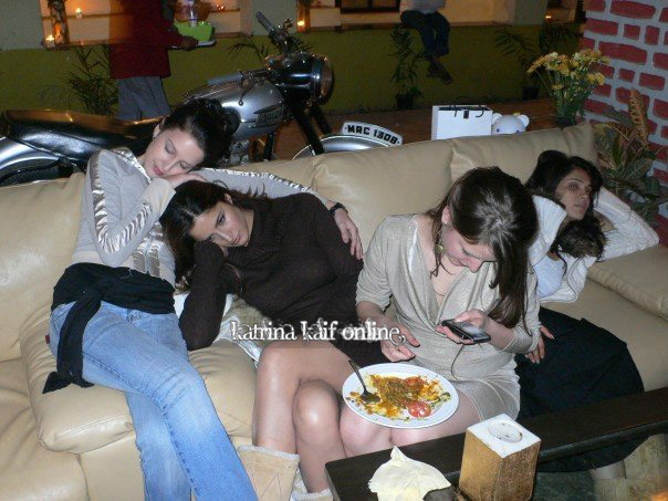 Katrina Kaif with Sisters  Family Pictures
