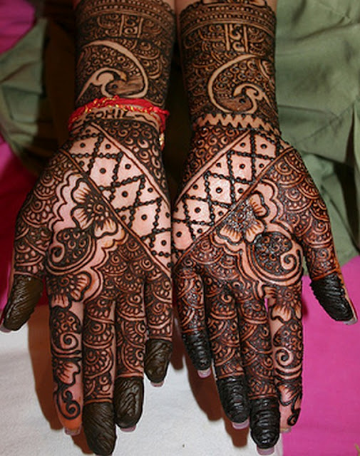 13 Unique Henna Designs Doing The Rounds This Wessing: * Unique Henna Designs *