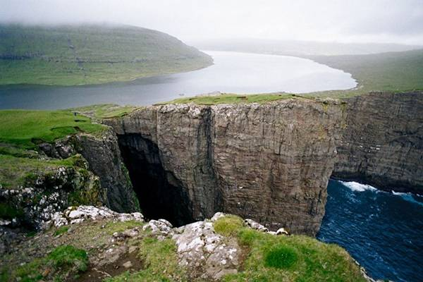 Sorvagsvatn Lake  Biggest Lake of Faroe Islands