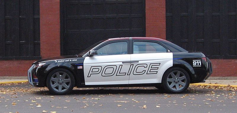 Amazing Police Car In Usa Xcitefun Net