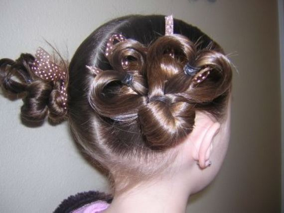 Bun Hairstyles For Little Girls 2012 Xcitefun Net
