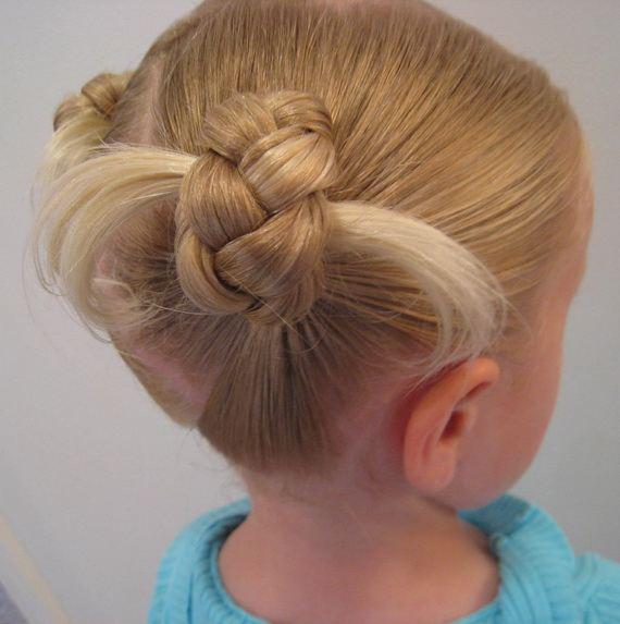 Bun Hairstyles For Little Girls 2012
