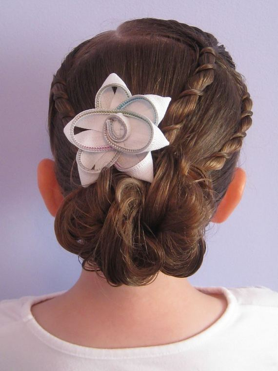 hairstyles for little girls 2012 bun hairstyles for little girls 2012