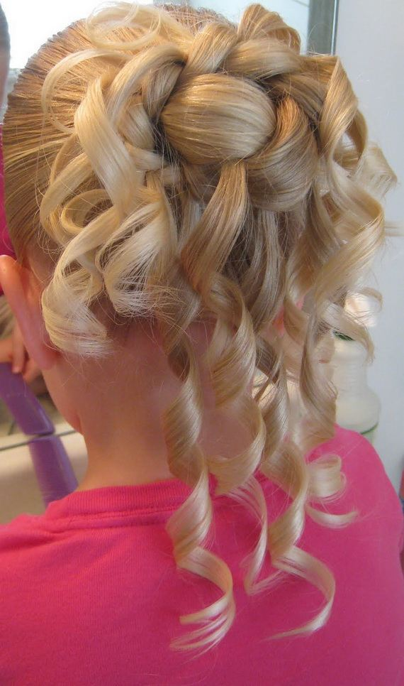 Bun Hairstyles For Little Girls 2012 Xcitefun Net