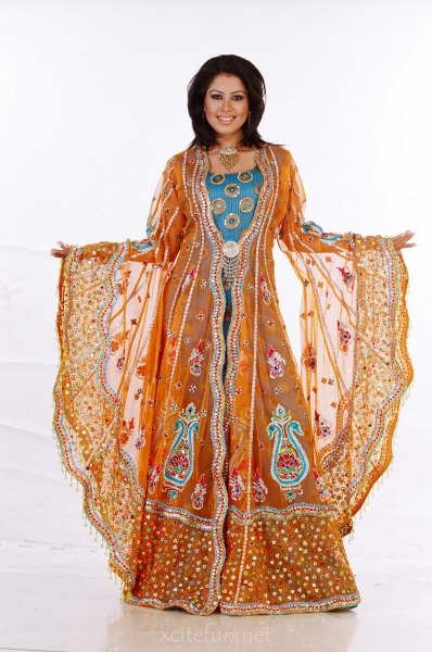 Beautiful Arabian Dress - XciteFun.net