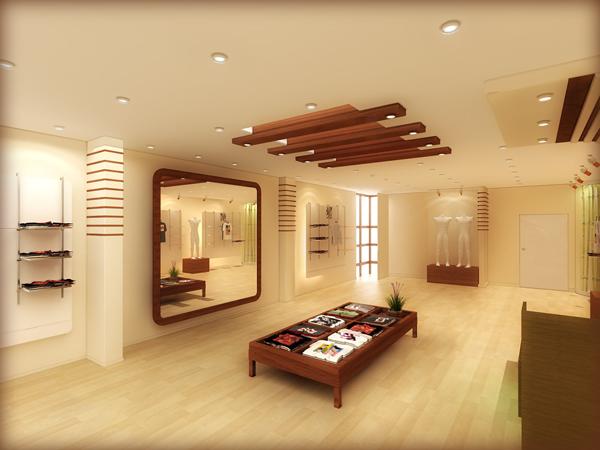 Modren False Ceiling with wood Material - XciteFun.net