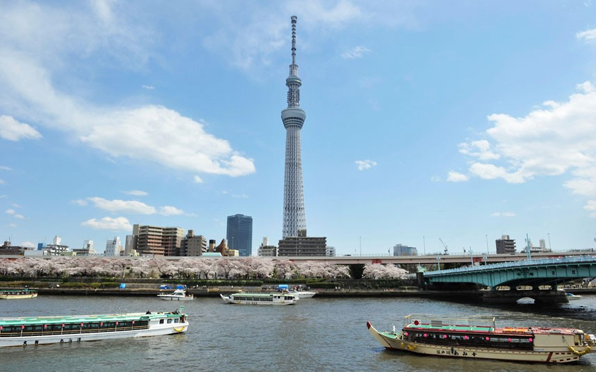 Tokyo Skytree Japan - Worlds Tallest Tower - XciteFun.net