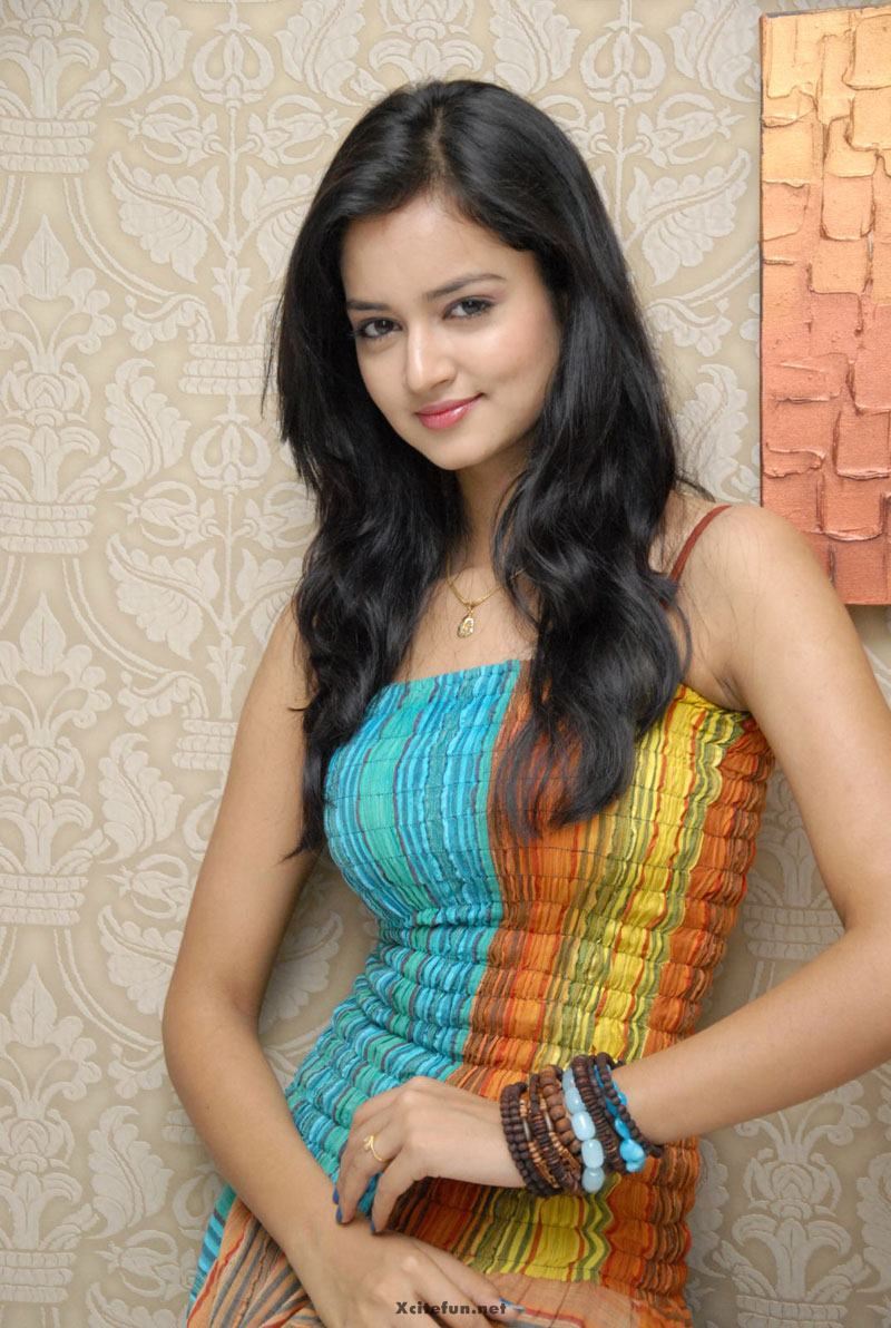 Cute Indian Actress Sanvi