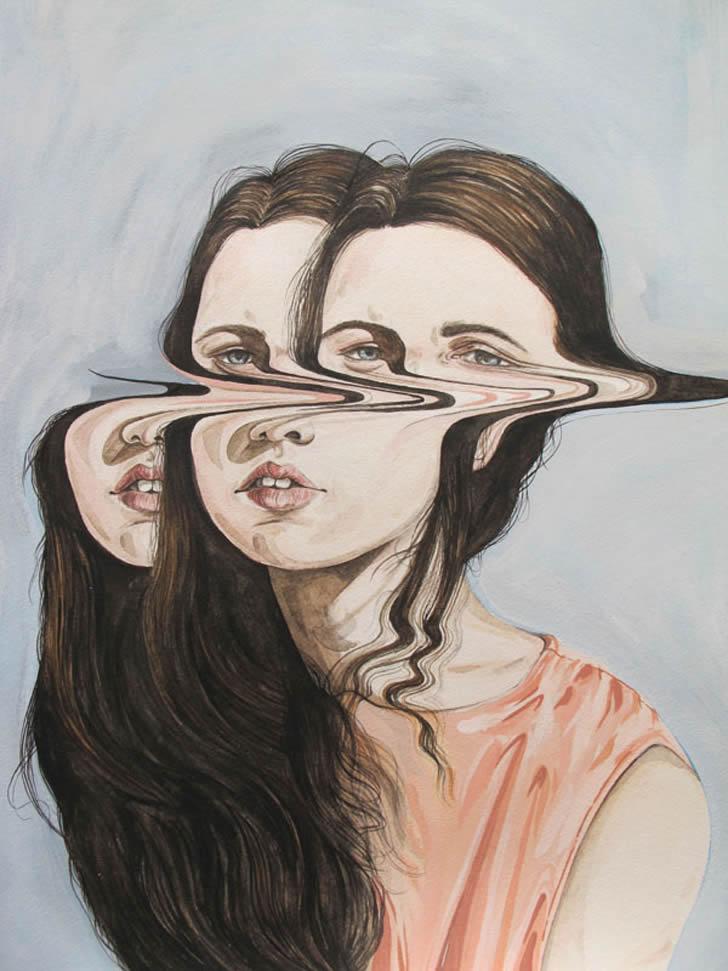 Distorted Painting Art - XciteFun.net