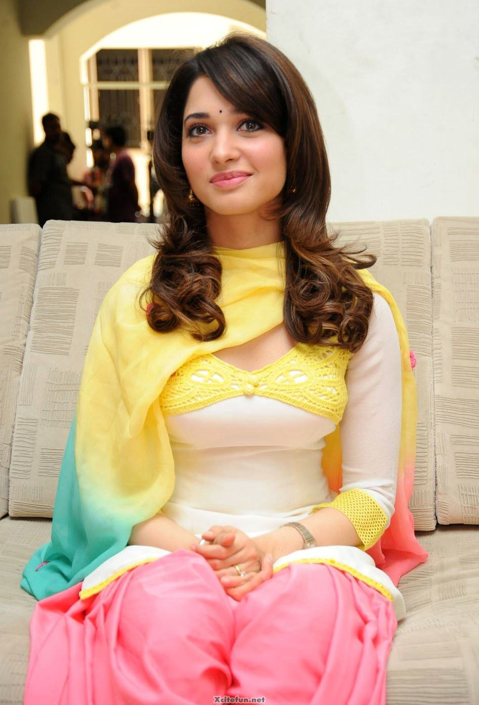 Cute And Naughty Indian Actress Tamanna - Xcitefunnet-2302