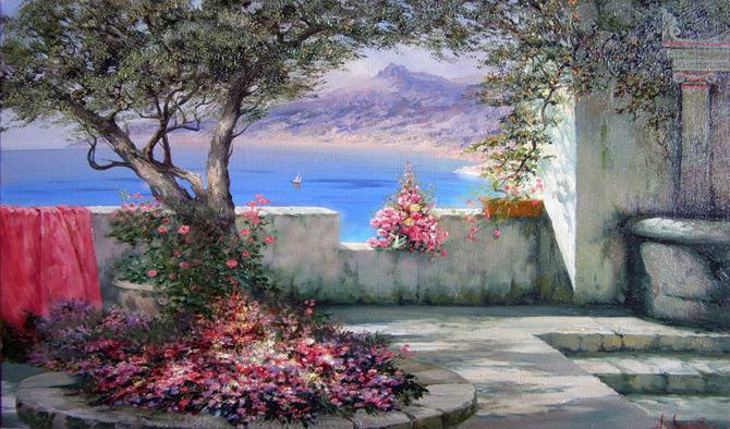 Paintings of Nature Scenes Natural Scene Oil Painting