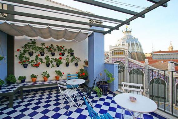 Small Balkon Cozy Balcony