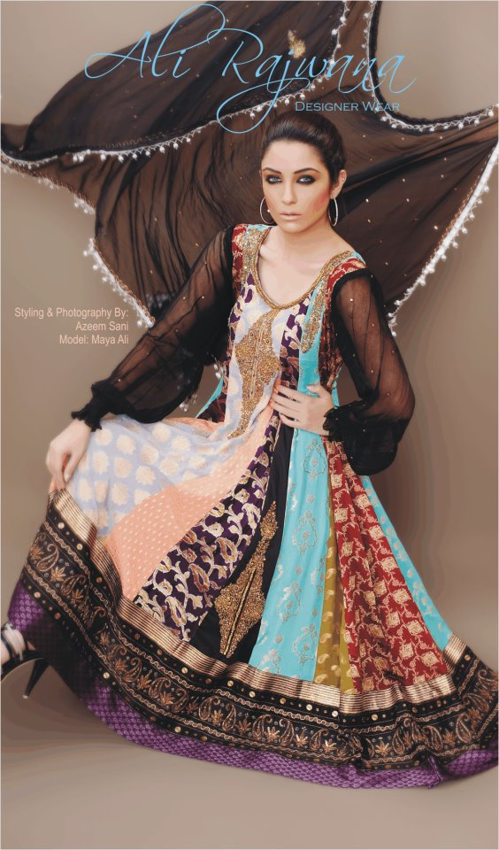 Latest Frock Churidar Fashion for Women in Pakistan 2012