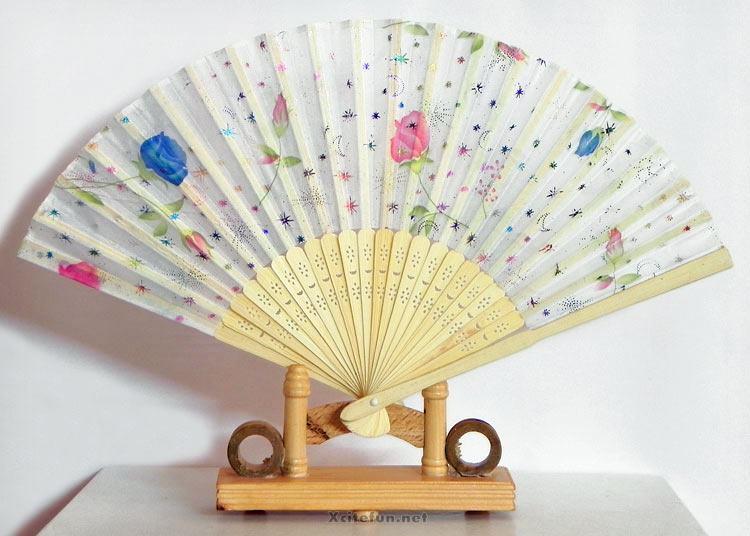 Wall Hanging Japanese Style Flower Fan Xcitefun Net