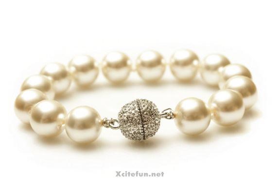 freshwater gold charm pearl bracelets for women xcitefun net