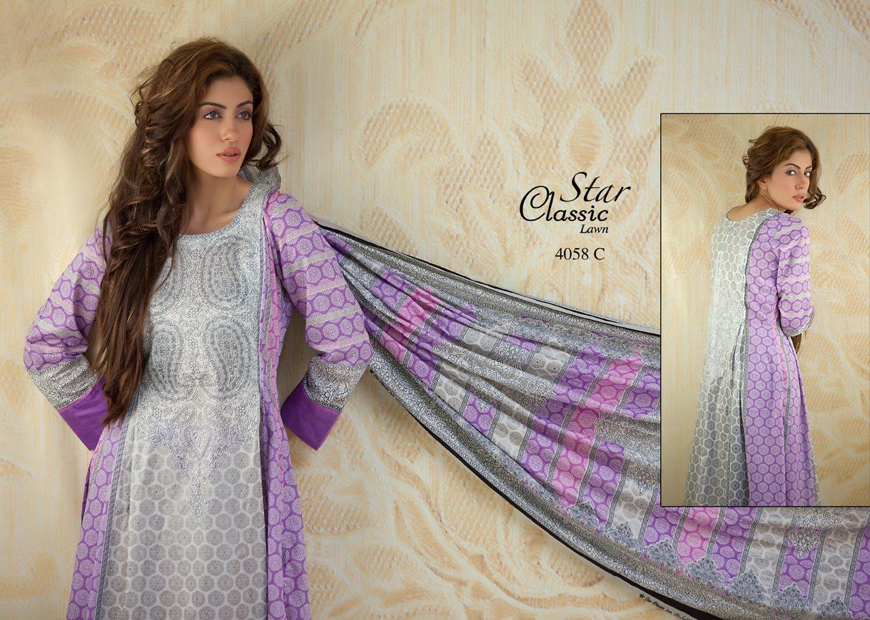 298598xcitefun five star classic lawn spring summer dre - Five Star Classic Lawn Spring Summer Dress Collection