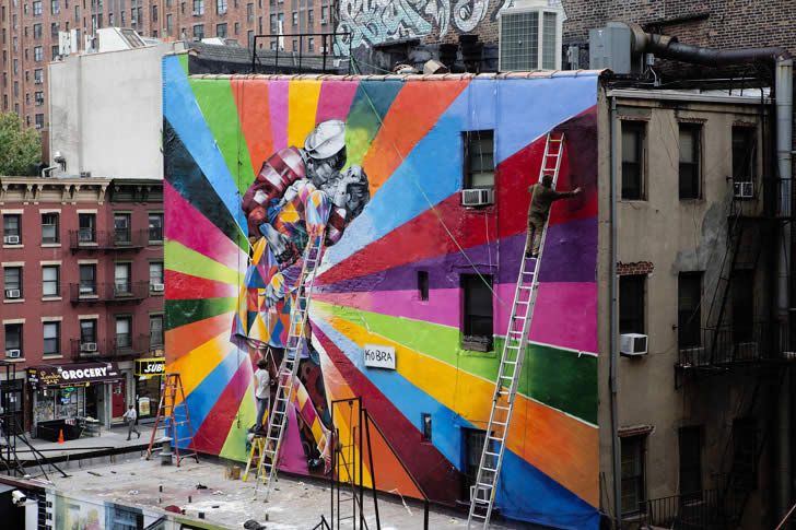 colorful street art xcitefunnet
