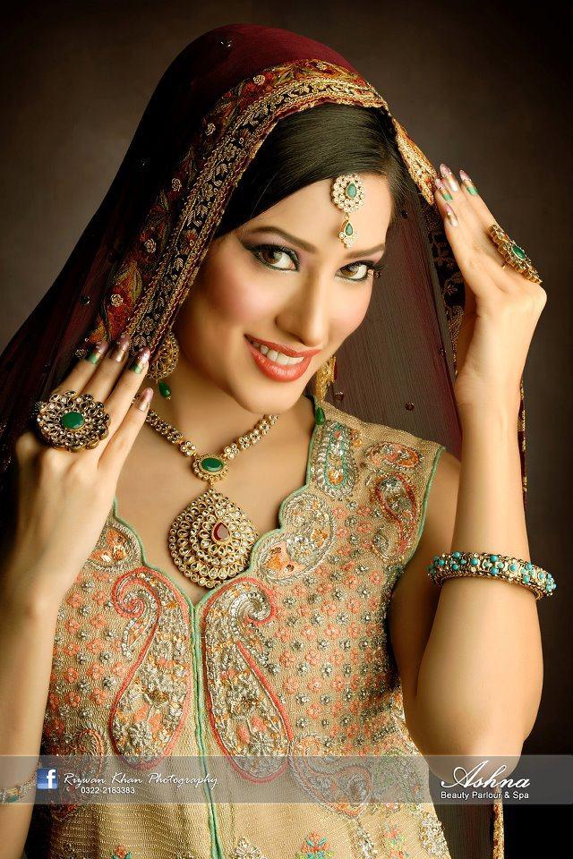 Mehwish Hayat Bridal Makeover Xcitefun Net