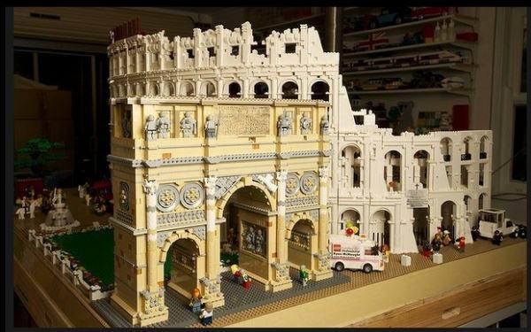 Incredible Lego Colosseum Nicholson Museum In Melbourne ...